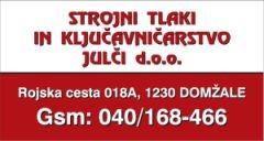 Strojni tlaki in ključavničarstvo Julči d.o.o.